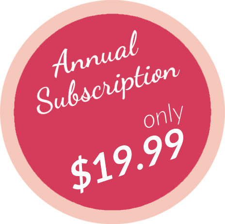 Annual subscription only $19.99